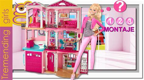 como montar la nueva barbie dreamhouse  casa suenos