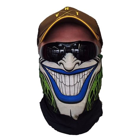 Party Smiley Face Printing Mask Outdoor Sports Riding