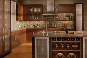 Kitchen Backsplash Ideas Dark Cherry Cabinets by Kitchen Backsplashes For Dark Cherry Cabinets Kitchen