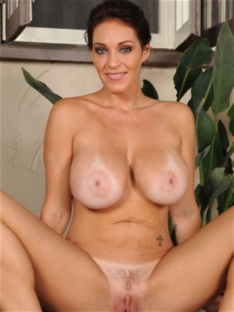 Beautiful Year Old Charlee Chase Praticing Some Naked Spreads