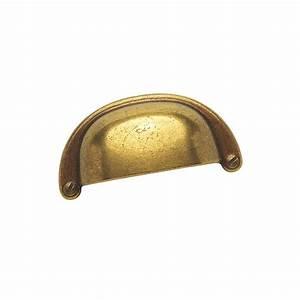 Poignée De Meuble Vintage : poign e coquille zamack bronz ~ Dailycaller-alerts.com Idées de Décoration