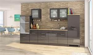 Küchenzeile 200 Cm : k chen leerblock m nchen k chenzeile k chenblock 330 cm grau ebay ~ Indierocktalk.com Haus und Dekorationen