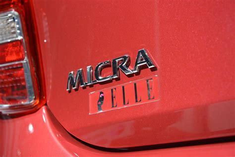2018 Nissan Micra Elle Autobloggr