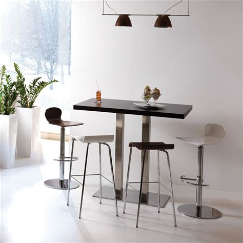 table de cuisine haute table de bar haute