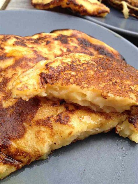 cuisine pancake pancakes légers pommes fromage blanc cuisine