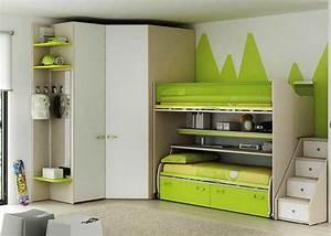 Kinderzimmer Mit Eckschrank : etagenbett mit treppe lieblings wahl von kindern heute ~ Markanthonyermac.com Haus und Dekorationen