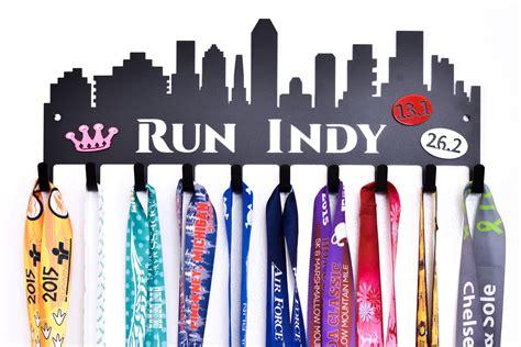 run indy medal hanger