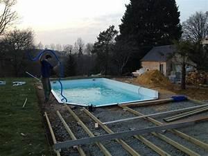 nivremcom comment faire une terrasse en bois piscine With fabriquer une piscine en bois