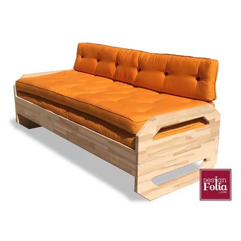 canapé lit bois canapé lit dupla matelas futon