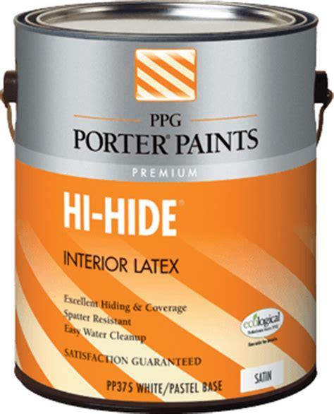 ppg interior paint hi hide 174 interior paint from ppg porter paints 174