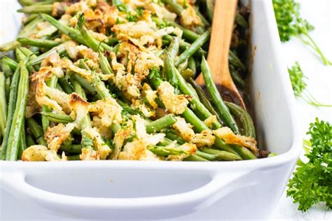 green bean casserole recipe gluten  vegan