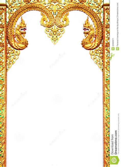beautiful thai art frame stock image image  design