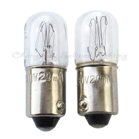 ba9s t10x28 130v 20ma miniature l light bulb a116 in