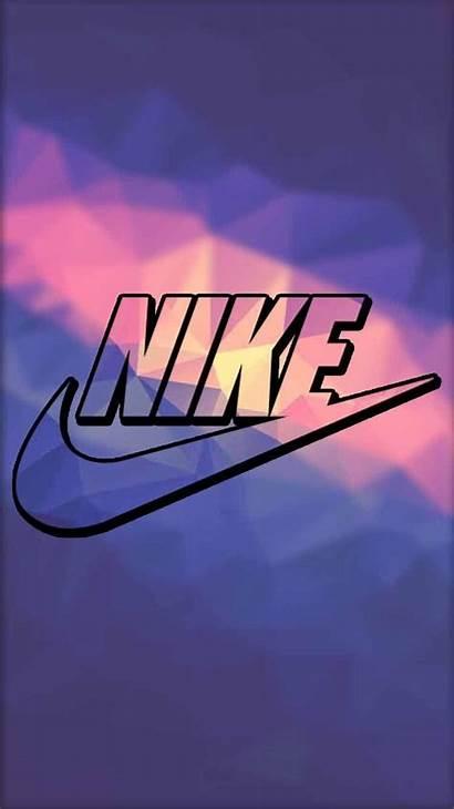 Nike Iphone Screen Lock Wallpapers Purple Backgrounds