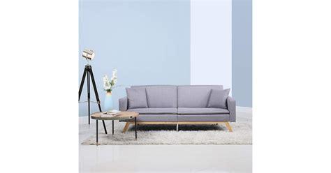 Divano Roma Furnniture Modern Tufted Linen Sleeper Futon