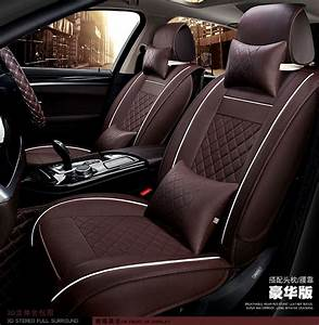 Automotive Seat Covers Pu Cushion Pad Universal Car