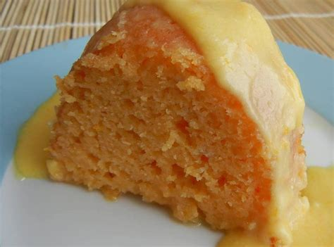 glazed orange bundt cake recipe    pinch recipes