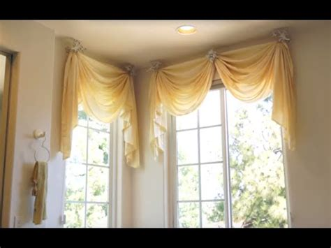 corner window curtain do it yourself window treatments ideas home intuitive