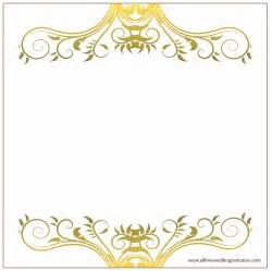 Beautiful Wedding Invitation Border Design Images Images For Wedding Invitation Laodna Com
