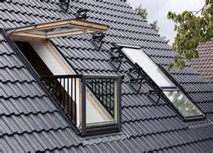 dachfenster balkon dachfenster quot cabrio quot velux produkttrends