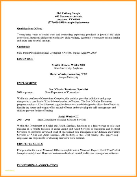 Sle Student Worker Resume by 12 13 Social Workers Resume Sles Loginnelkriver