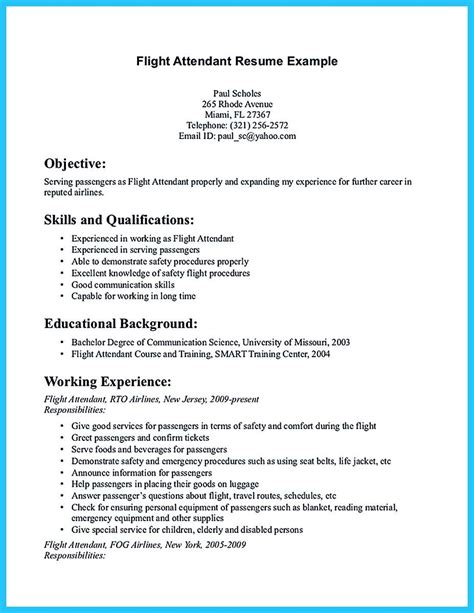 Airline Resume Format by Pin On Resume Template In 2019 Flight Attendant Resume