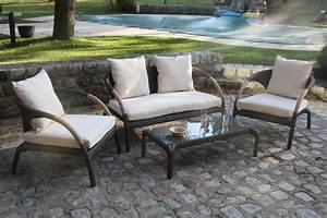 Salon De Jardin Textilene : la nouvelle collection de meubles de jardin ozalide blog ~ Dailycaller-alerts.com Idées de Décoration
