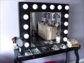 diy hollywood style vanity mini tour what i used to