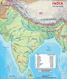Top Ten Rivers in India (by Lenghth in kms) - Maps of India
