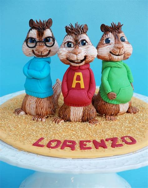 alvin and the chipmunks cake toppers 17 best images about alvin n chipmunks on