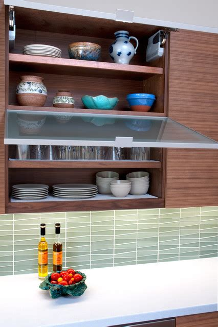 tiles for the kitchen walnut cabinets with tip up modern kitchen san 6225