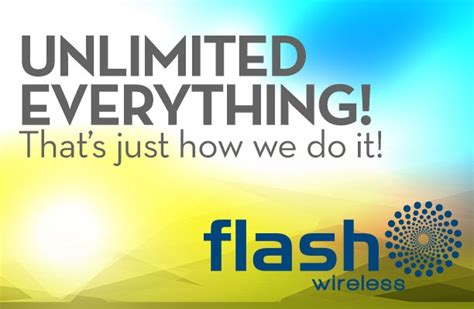 ACN News | Unlimited Everything Plans from Flash Wireless ...