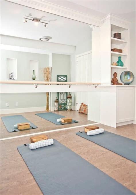 yoga room transitional home gym calgary  ana