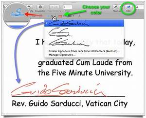 how to have preview sign your pdfs in os x the mac observer With sign documents with preview