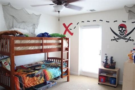 Pirate Themed Bedroom For Your Son  House Design Ideas