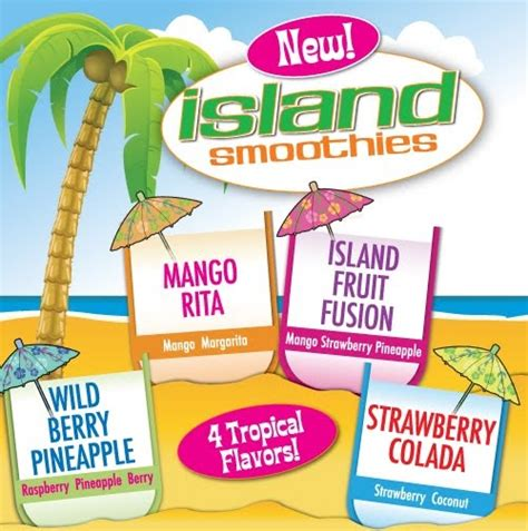 Oberweis Dairy: New Island Smoothies