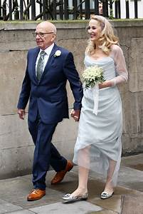 Jerry Hall Wears Roger Vivier To Celebrate Marriage to ...