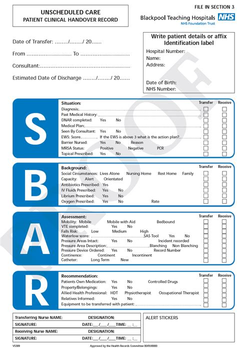 nursing handoff report template 28 images of health care template leseriail