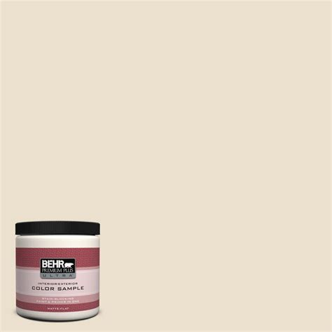 BEHR Premium Plus Ultra 8 oz #N2903 Comfy Beige Interior