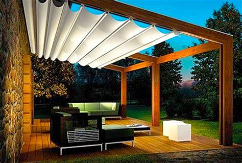 retractable awning ideas  outdoor deck patios