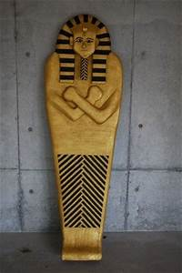 How To Make A Sarcophagus For An Egyptian Halloween