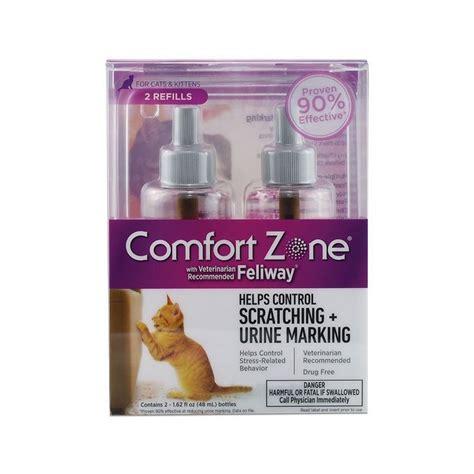 comfort zone feliway comfort zone with feliway cat diffuser refill 48