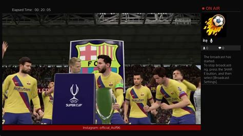 Barcelona vs Atletico Madrid super Cup - YouTube