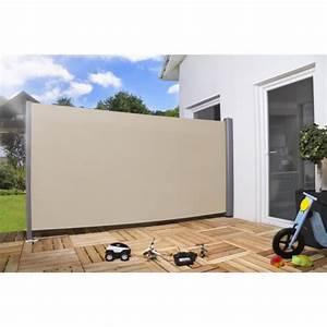 Agrafeuse Pour Brise Vue : brise vue pour la terrasse beige achat vente cl ture grillage brise vue pour la terrasse ~ Mglfilm.com Idées de Décoration