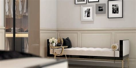 A Modern Deco Home Visualized In Two Styles by A Modern Deco Home Visualized In Two Styles Day Bed