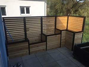 Brise Vue Pour Terrasse : brise vue terrasse avec jardini res int gr es par ~ Dailycaller-alerts.com Idées de Décoration