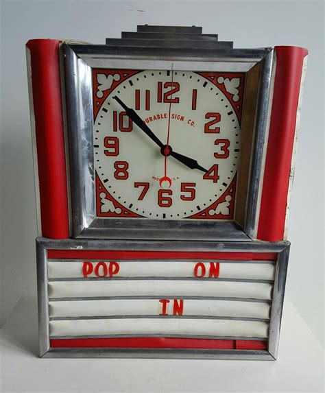 lighted clocks for sale art deco light up clock for sale at 1stdibs