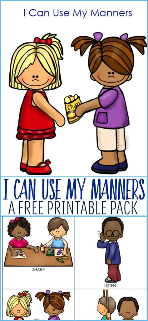 How To Teach Manners To Young Kids Or Children On The