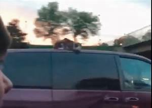 Kat beleeft doldwaze rit op dak van auto | Metro