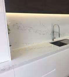 kitchen backsplash paint installation of eternal calacatta gold silestone worktops 2239